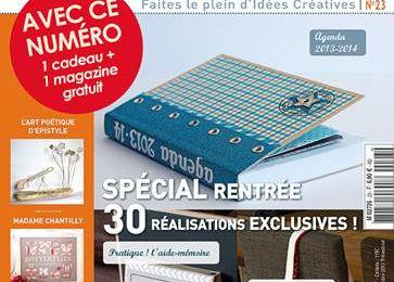 Publication dans Atelier Deco & Créations