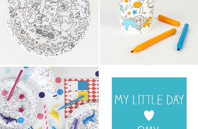 Une chouette collaboration: My little day & OMY