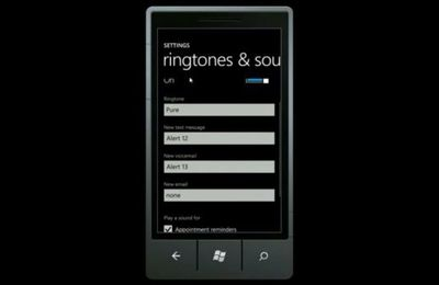 Windows Phone 7 pour qui ne sonne pas le glas