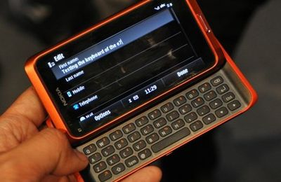 Windows Phone 7 sur le Nokia E7?