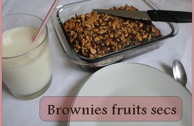 Brownies fruits sacs