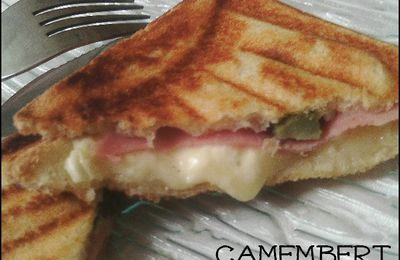 Croque monsieur camembert