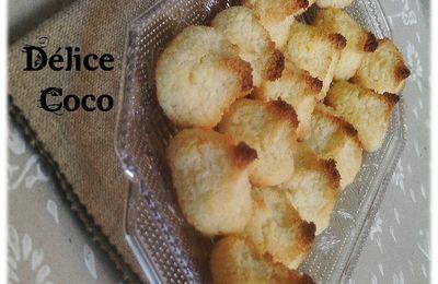 Petits délices à la noix de coco