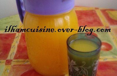 Jus de citron et d'oranges عصير بالبرتقال والحامض
