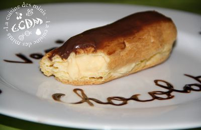 Eclairs Home made - Thermomix