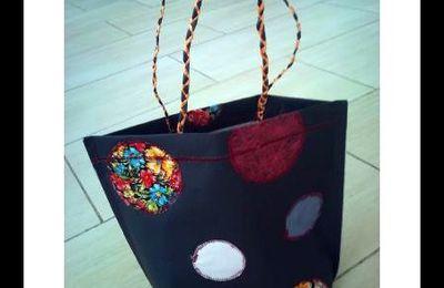 Tuto : jolis bracelets cousu avec des chutes de tissu et sac en papier de Lola
