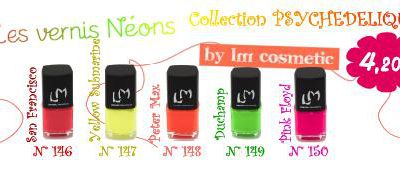 Lm Cosmetic : Collection Néon