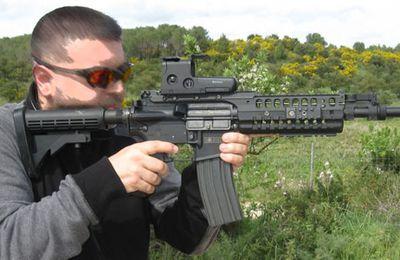 Le Barrett M468-REC7 le fusil d'assaut du futur ?