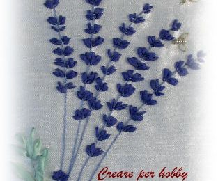 SILK RIBBON: lavanda