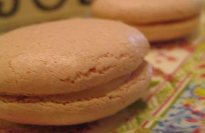 Bilan du week end ......Mes premiers macarons ......