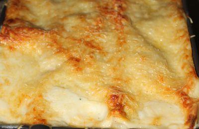 Lasagnes aux poireaux et aux 2 saumons