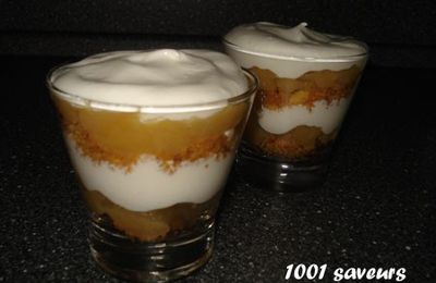Veiled Maidens (trifle aux pommes)