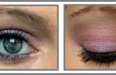 Make-Up : un smoky violet rose avec NYX !!!