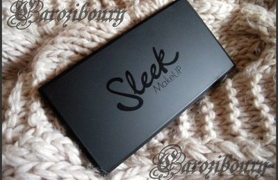 "Opinion Produit : palette ""AU naturel"" de SLEEK"