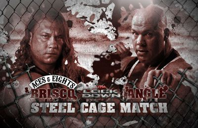 TNA Lockdown 2013 : Steel Cage Match : Kurt Angle vs. Wes Brisco
