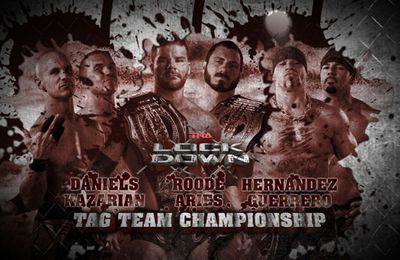 TNA Lockdown 2013 : Triple Threat Match Tag Team Championship