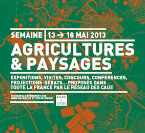 Semaine Agricultures et Paysages 2013