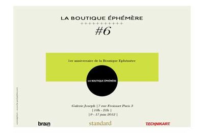 BOUTIQUE EPHEMERE #6