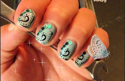 Nail art mechanical Disco