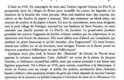 Collectage à Prézégat (Saint-Nazaire) dans les années 1930- F. Guériff