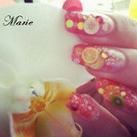 Nail art Fruity
