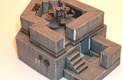 Bunkers au 1/87