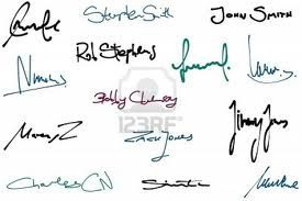 La valeur de la signature manuscrite ?