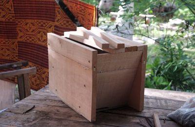 Construction de ruches kényanes - 1 : préparation