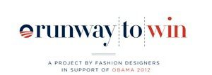 Runway to Win : la fashion roule pour Obama
