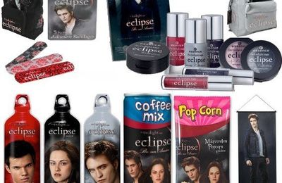 Récapitulatif des goodies sur Twilight