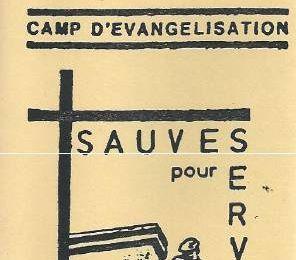 la chorale du camp de Corbeil en 1985