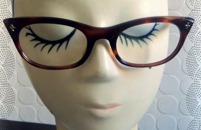 Paire de Lunette Vintage Retro Papillon 50's Mad Men