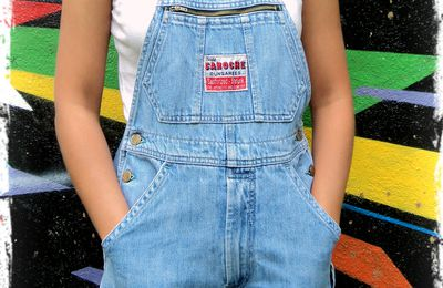 !! Back To School !! in Vintage Overall