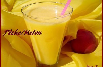 Smoothies Peche/melon