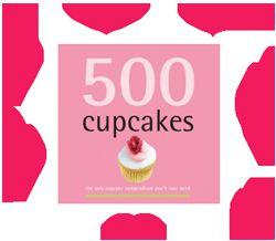 500 Cupcakes le livre.