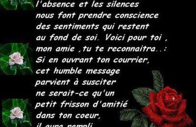 L'absence et le silence