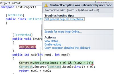 .NET interview questions: - What are code contracts? Does code contract only do dynamic checks?