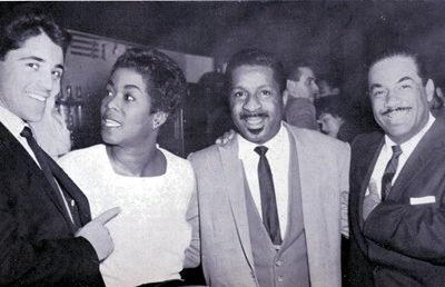 1958 : Sacha Distel, Sarah Vaughan, Erroll Garner et Machito