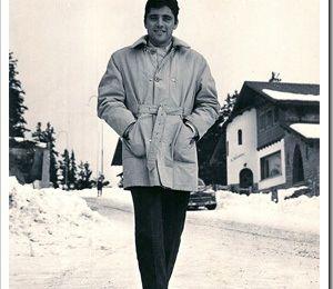 27 décembre 1964 : Sacha Distel à Crans sur Sierre