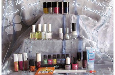 "Giveaway chez ""Love-nail-art """