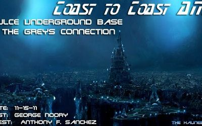 Dulce Underground Base & The Greys Connection & Project Leonid - Coast to Coast AM