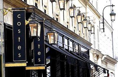 J'ai testé ... le restaurant de l'hotel Costes à Paris.
