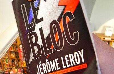 """JURY - """" Le bloc"""", par Jérôme Leroy..."""