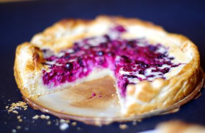 Tarte amandine aux fruits rouges absolument..fa-bu-leuse!