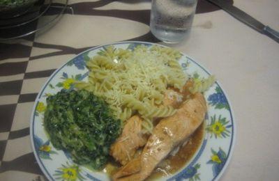 saumon à la marinade teriyaki