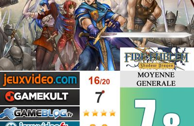 [Revue de test] FIRE EMBLEM Shadow Dragon