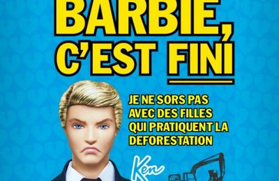 BARBIE, serial killeuse d'orangs-outans !