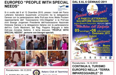NEWSLETTER - Dicembre 2010