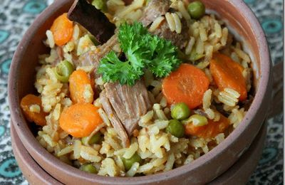 Plat unique - Tajine de riz