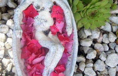 Sculpture Raku jeune fille japonaise - Amae-